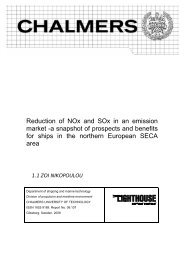 Reduction of NOx and SOx in an emission market -a snapshot of ...