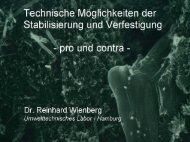 Dr. Reinhard Wienberg - Deponie-stief.de