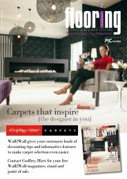 Carpets that inspire - Supplier Woodworking magazine