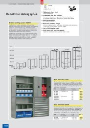 The bolt-free shelving system