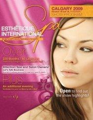 At A Glance - Esthetique SPA International