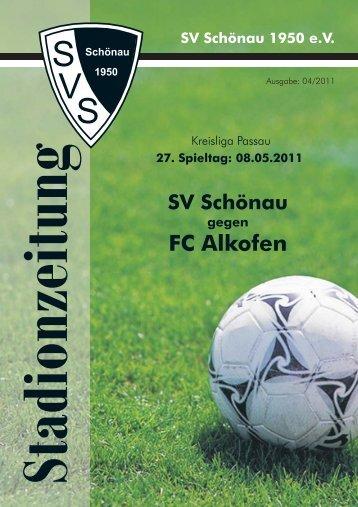 FC Alkofen - SV Schönau