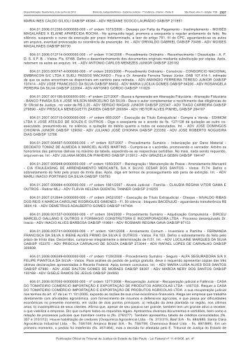 MARIA INES CALDO GILIOLI OAB/SP 46384 - ADV REGIANE ...