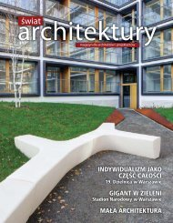 swiat 18 - Świat Architektury