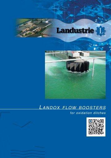 Landox FLOW BOOSTERS - Landustrie