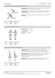 Trainingsplan - Sport Ruscher