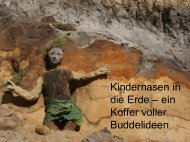 Kindernasen in die Erde – ein Koffer voller Buddelideen