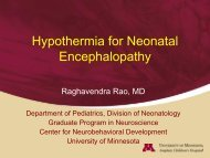 Hypothermia for Neonatal Encephalopathy - Trinity Health