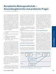 Anwendungsbereiche und praktische Fragen - BARNERT ...