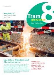 Download des Newsletters - Tram8.info
