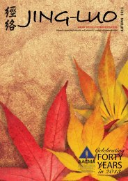 Autumn 2013 - Australian Acupuncture & Chinese Medicine ...
