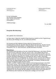 Runden Tisches zum Gewässerschutz Werra/Weser ... - Quanz, Lothar