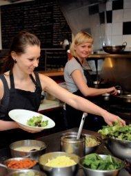ausführliche Reportage über das World Food Café in London.