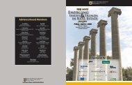 2008 Forum Program - JES HOLDINGS, LLC