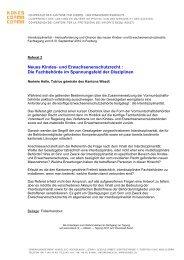 Neues Kindes- und Erwachsenenschutzrecht : Die ... - Kokes