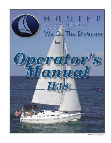 38 Operator's Manual.. - Marlow-Hunter, LLC