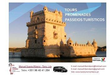 TOURS PROMENADES PASSEIOS TURÍSTICOS