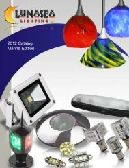 2012 Catalog Marine Edition - Lunasea Lighting