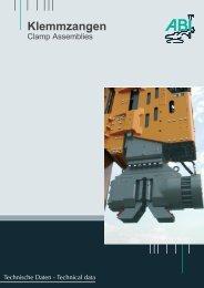 Hydro-Press-System Klemmzangen - Steelcom