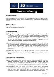 Junge Union Kreisverband Goslar: