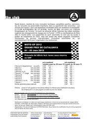 MOTO GP 2012 GRAND PRIX DE CATALUNYA 01 - 03 Juin 2012 ...