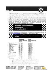 MOTO GP 2012 d'Allemagne Sachsenring 06-08 juillet 2012