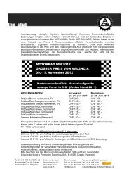 Grosser Preis von Valencia - Sektion beider Basel