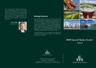 RWB Special Market Fonds • Asia I