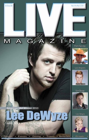 LIVE MAGAZINE VOL 8, Issue #208 May 1st THRU May 15th, 2015