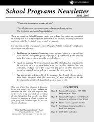 School Programs newsletter pages.qxp - Winterthur