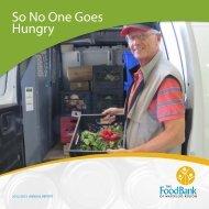 2012-2013 Annual Report - Food Bank of Waterloo Region