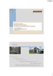 Θερμομόνωση κτιρίων: Αρχές και υλικά