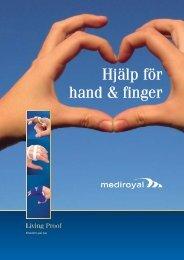 Hjälp för hand & finger - Ortosupport