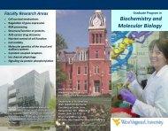 Biochemistry and Molecular Biology - WVU School of Medicine