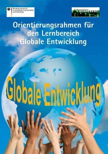 Orientierungsrahmen für den Lernbereich globale Entwicklung (pdf ...