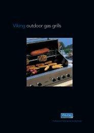 Viking outdoor gas grills - Viking Range Corporation