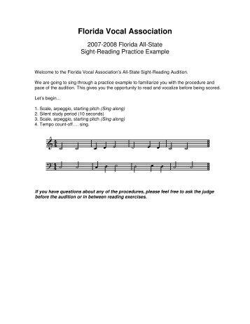2009-10 - Florida Vocal Association