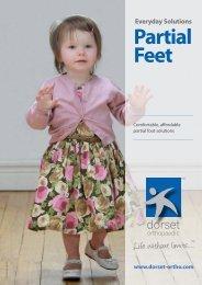 Partial Foot brochure - Dorset Orthopaedic
