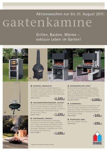 gartenKamine - Frank Schott Kachelöfen