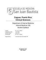 Caguas, Puerto Rico - San Juan Bautista School of Medicine