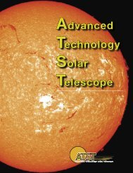 The Science of ATST - National Solar Observatory