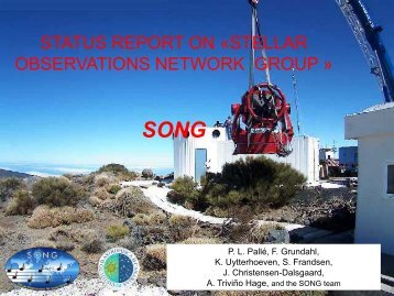 SONG - National Solar Observatory