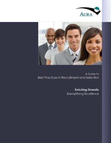 AURA Recruitment Guide -Final.pdf - National Solar Observatory