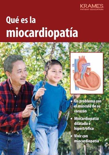 Qué es la miocardiopatía - PDF Se abre una ventana nueva.