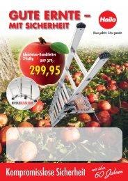 HAILO- Leitern: Gute Ernte - mit Sicherheit - Becker Westerkappeln