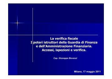 Cap. Giuseppe Bovenzi - AssICC