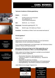 Rettungsbelüftung-Taktische Ventilation Seminar - Fire-Circle