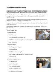 Fortbildung und Seminar für Techniken um Türen ... - Fire-Circle