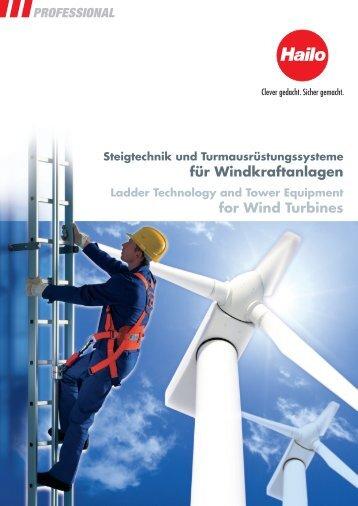 Katalog Steigtechnik Windkraftanlagen