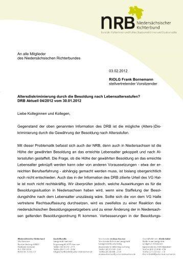 2012-02-03 Mitgliederinformation des NRB